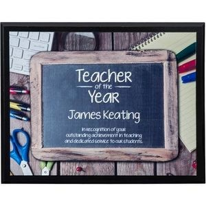 "Sublimated Horizontal Plaque (10""x8"")"
